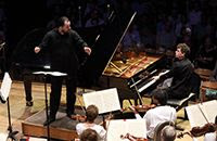 [Andris Nelsons and Paul Lewis, summer 2019]