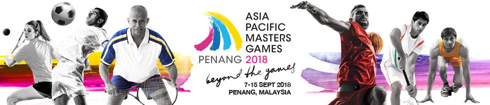 APMG2018 - ASIA PACIFIC MASTERS GAMES 2018