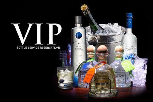 VIP Bottle Service Reservation