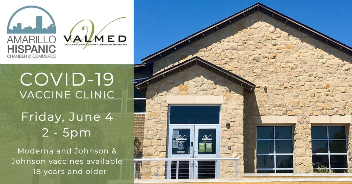 Covid-19 Vaccination Clinic @ Valmed Home Health