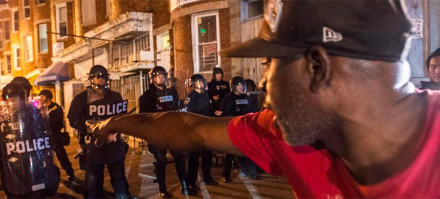 As a visit to post-uprising Baltimore confirms, high-profile police murders are only part of the problem. (photo: Robert Stolarik/NYT)