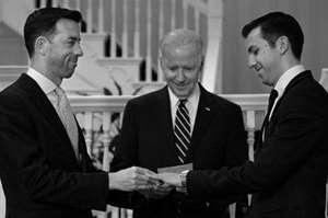 Biden Performs 'Gay Marriage'