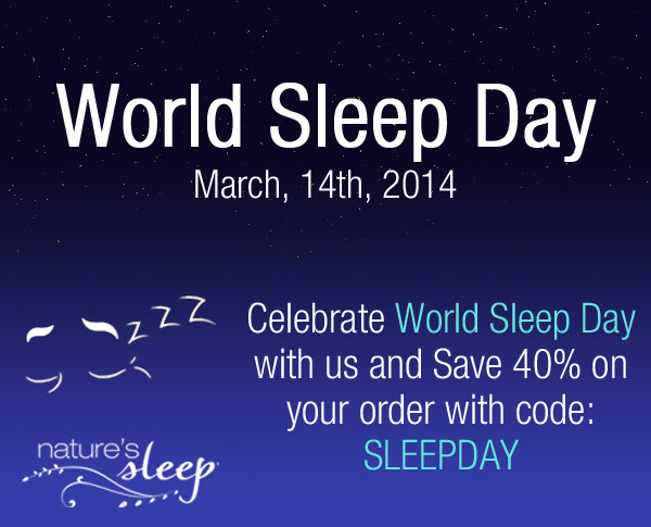 World Sleep Day Sale- 40% OFF.
