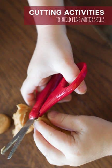 Great cutting activities for kids learning scissors skills