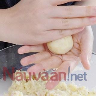 nặn bánh khoai tây phô mai