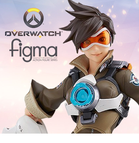 OVERWATCH FIGMA NO.352 TRACER