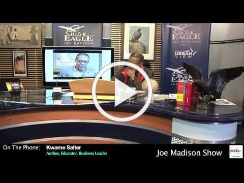 The foundation of America's wealth is slavery.... Joe Madison | The Black Eagle