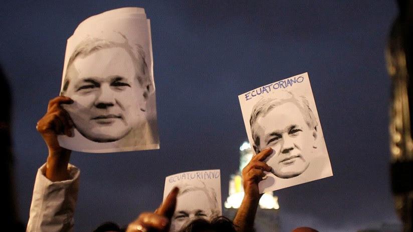 WikiLeaks: Las acusaciones contra Assange están vinculadas a un informe que relaciona a Lenín Moreno con actividades corruptas