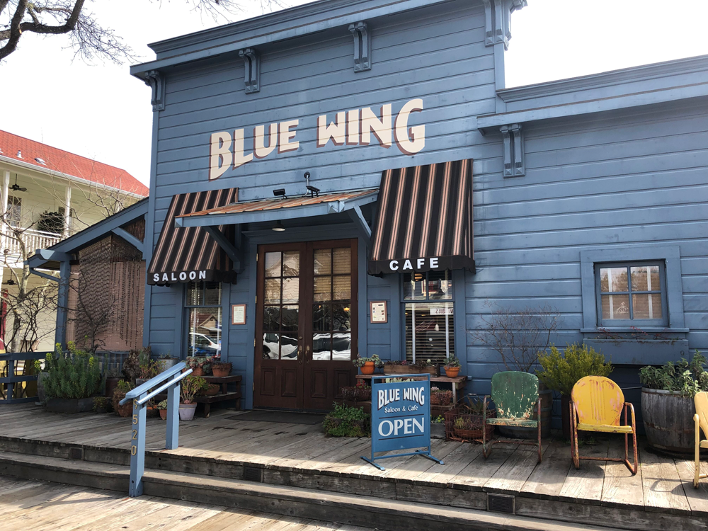 Blue Wing Saloon. Photo Roger Coryell