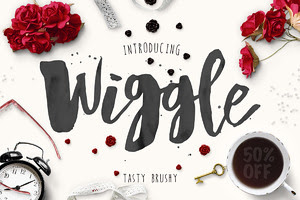 Wiggle Typeface + Bonus