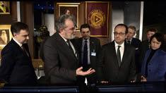 François Hollande chez les francs-maçons