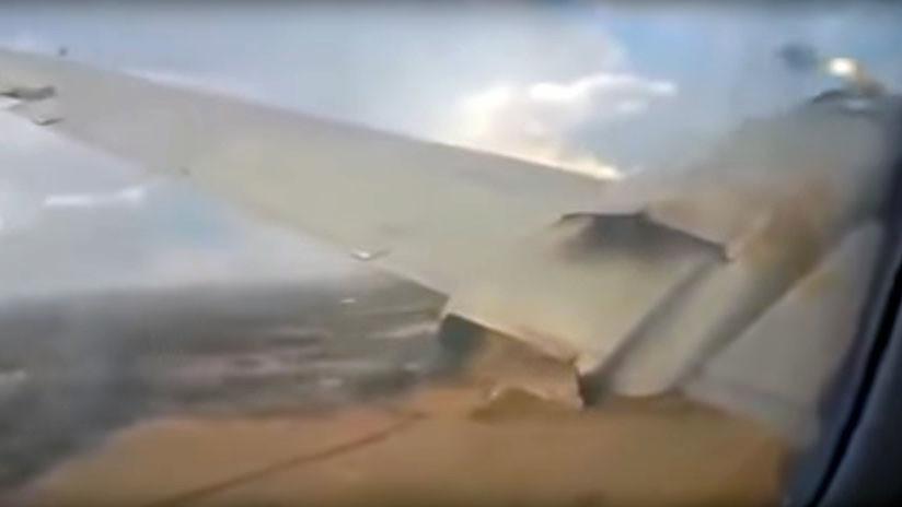 VIDEO: Pasajero graba aterradoras imágenes desde el avión en que viajaba antes de que se estrellara