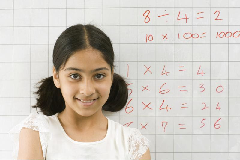 Use a whiteboard to simplify math problems.