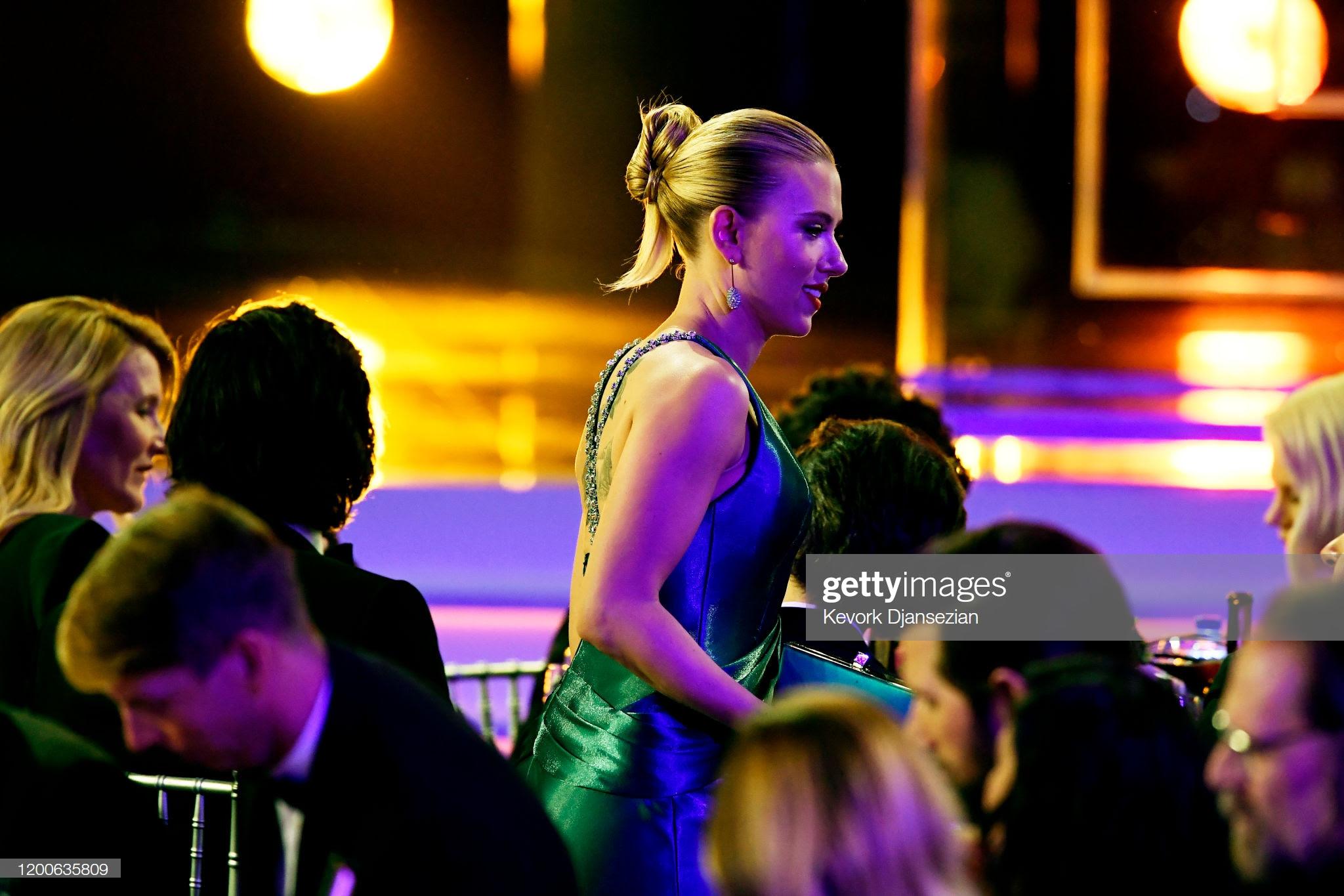 """f342d936 97f8 41db a79c 24fefe92b50e - Screen Actors Guild Awards"""" 2020: Scarlett Johansson y Leonardo Dicaprio entre las celebrities que lucieron Jimmy Choo"""