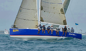 J/111 sailing Key West Race Week
