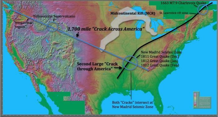Scientists Found a 1,700 Mile Crack Across the USA. Here's What You Need to Know