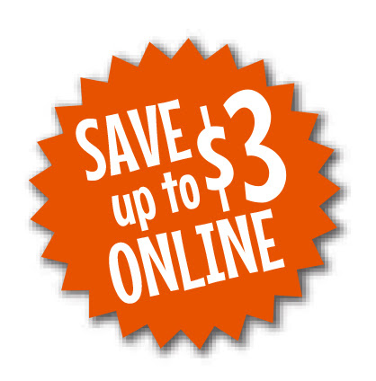 Save up to $3 on hardcover books when you pre-pay online!