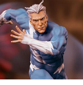 X-Men Battle Diorama Series Quicksilver 1/10 Art Scale Limited Edition Statue