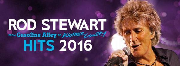 Rod Stewart - Hits 2016 no Meo Arena a 6 de Julho