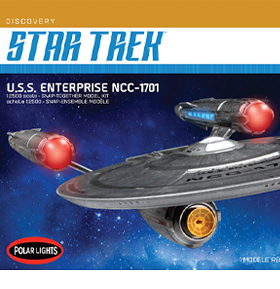 STAR TREK: DISCOVERY NCC-1701 1/2500 SCALE MODEL KIT