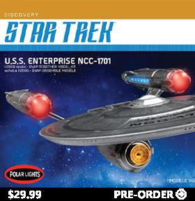 STAR TREK: DISCOVERY NCC-1701 1/2500 SCALE MODEL KIT