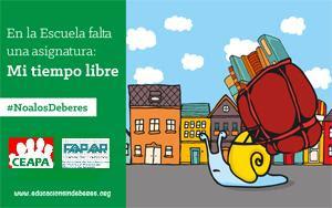 #NoalosDeberes. Campaña de Noviembre