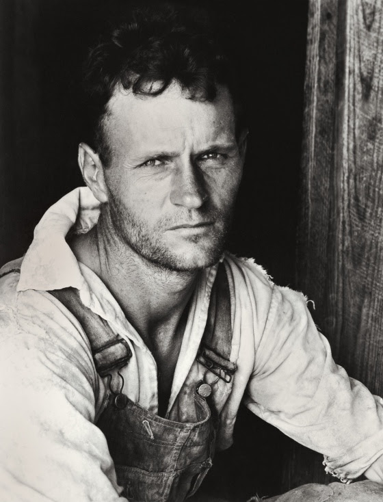 Walker Evans (1903-1975) 'Alabama Tenant Farmer Floyd Bourroughs' 1936