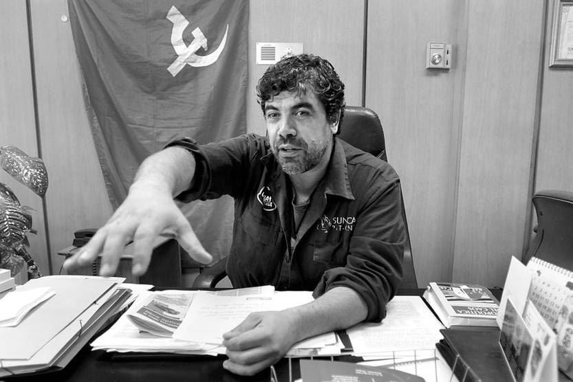 Óscar Andrade. Foto: Sandro Pereyra