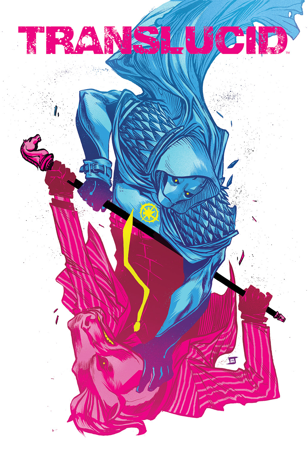 TRANSLUCID #2 Cover by Jeff Stokely