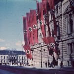 Nazi Swastikas Third Reich Berlin Flags Germany