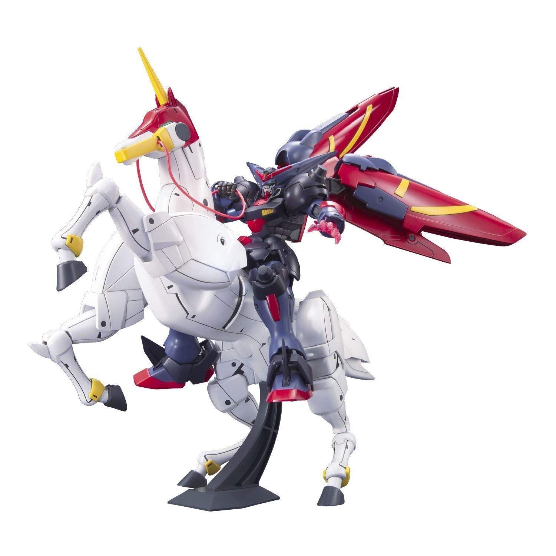Image of Bandai #128 Master Gundam and Fuunsaiki 1/144 High Grade Future Century
