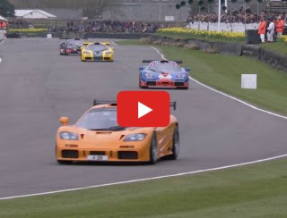 VIDEO: MCLAREN F1 GTRS REDEFINE 'COOL'