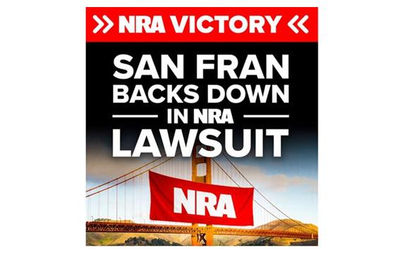 San Francisco Backs Down on Blacklisting NRA Contractors