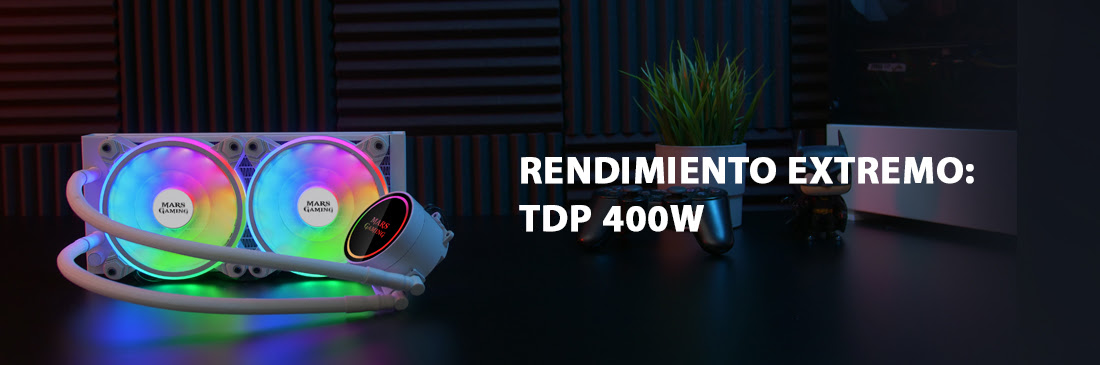 KIT REFRIGERACIÓN LÍQUIDA ML240 Refrigeración extrema líquida a tu alcance.