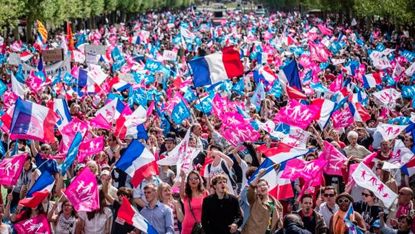 Manifestación de la 'Manif pour Tous' / Le Figaro