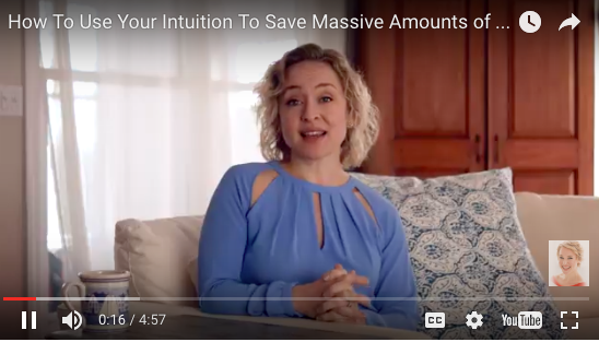 How to Use Your Intuition to Save Massive Amounts of Money by Kate Northrup