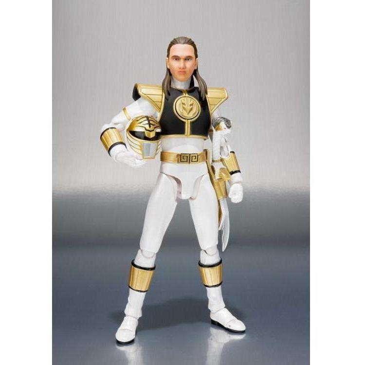 Image of Mighty Morphin Power Rangers S.H.Figuarts - White Ranger (Removable Helmet)