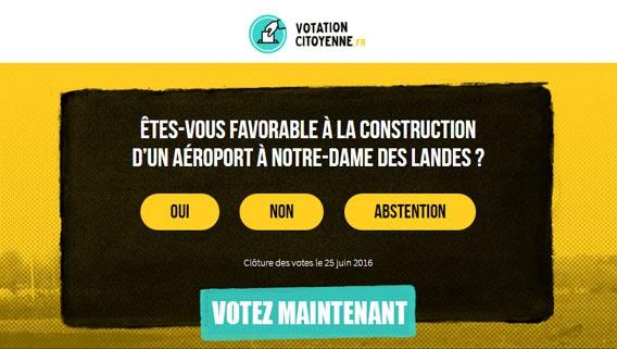 Votation citoyenne #NDDL – Agir pour l'Environnement