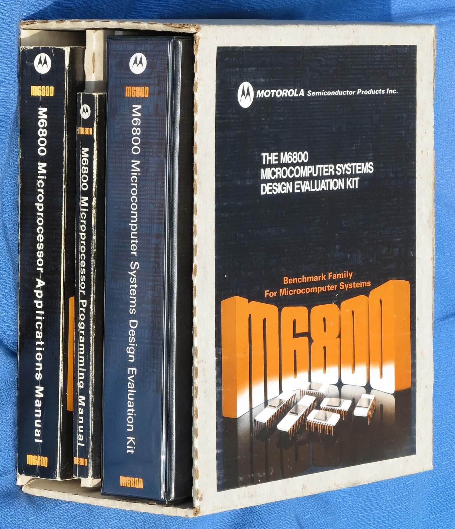 MEK6800 Books