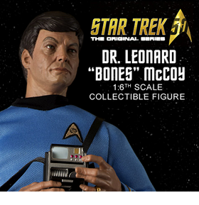 Star Trek TOS Dr. Leonard Bones McCoy 1/6 Scale Articulated Figure