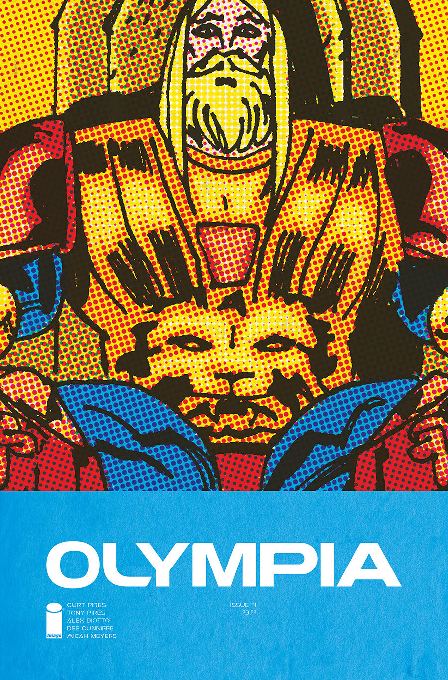 Image Comics announces new series, Olympia