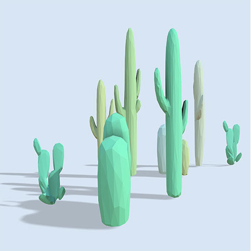 Luminous Cactus