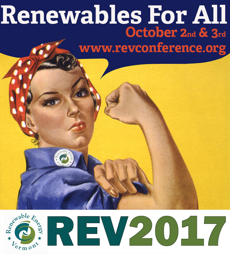 Registration for Renewable Energy Vermont 2017 Conference & Expo Now Open