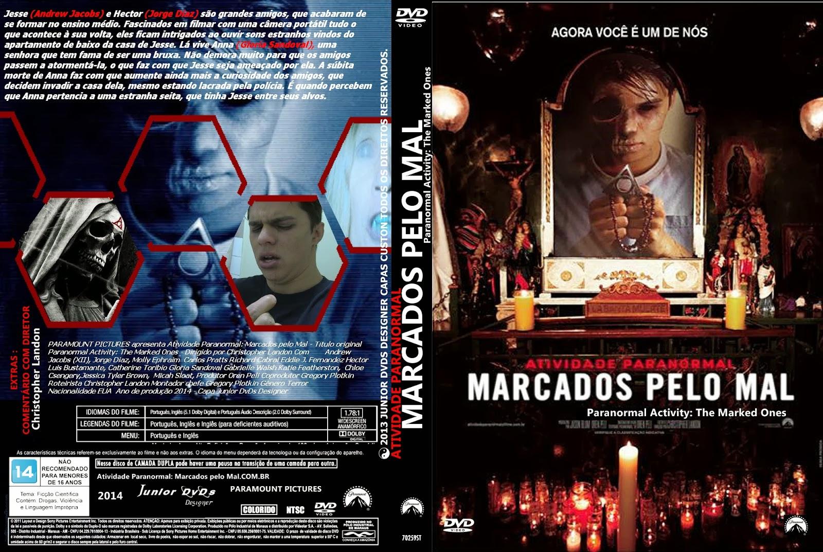 boNQjvX Atividade Paranormal: Marcados Pelo Mal Torrent DVDRip Dual Audio (2014)