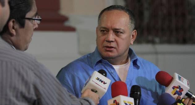 El presidente de la Asamblea Nacional (AN), Diosdado Cabello