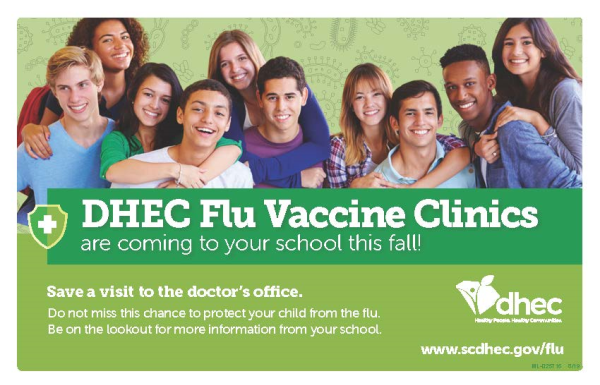 DHEC Flu Vaccine Clinics flier.jpg