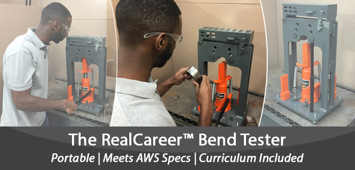 Click to learn more about the RealCareer Bend Tester