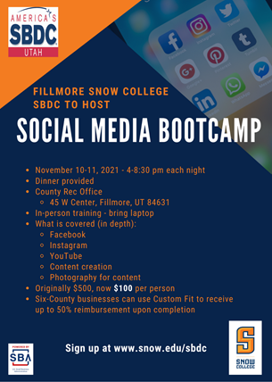 Snow SBDC Event