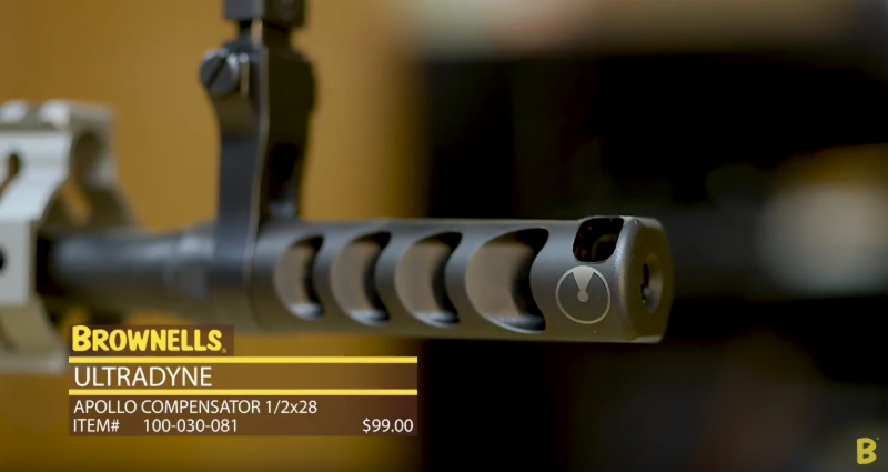 Ultradyne's Apollo Muzzle Brake: The 25% Advantage