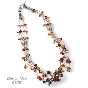 Multi-Strand Necklace (Design Idea 01CD)